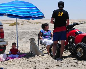 Pret op die strand