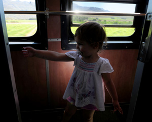 Op die Shozaloza Meyl trein