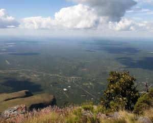 Fantastiese uitsig vanaf Mariepskop